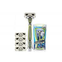 Stylized Rubber Grip 6 Blades men razors SXA5000 with Sculpting Trimmer