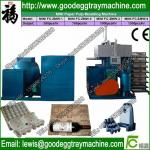 Computer control reciprocating resycle system used paper egg tray machine