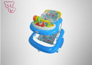 China Rocking Foldable Baby Walker Soft Seat  Enviorment Plastic Detachable Silicon Wheels on sale