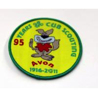 China Custom Embroidered Patches, Fire Services Embroidery Patch For Clothing on sale
