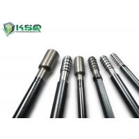 China R32 R38 T38 Round and Hex Threaded Drill Rod For Short Hole Drilling / Tunneling on sale