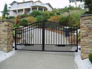 China Aluminum Gate  metal gate garden gate driveway gate on sale