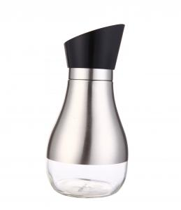 China 2015 New Products Glass oil and Vinegar Bottle For kitchen Stainless Steel 304 Storage Jar on sale