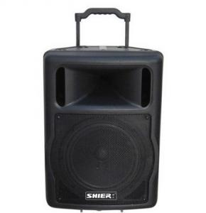 China 12'' woofer USB, MP3 Audio Portable PA Sound Systems With FM radio,LCD display  on sale