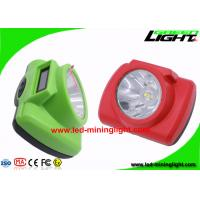 Brightest Cordless Mining Cap Lights Electrical Protection Hard PC Material