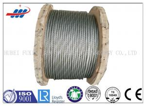 Strong Galvanized Steel Wire Rope , Aircraft Grade Wire Rope Anti