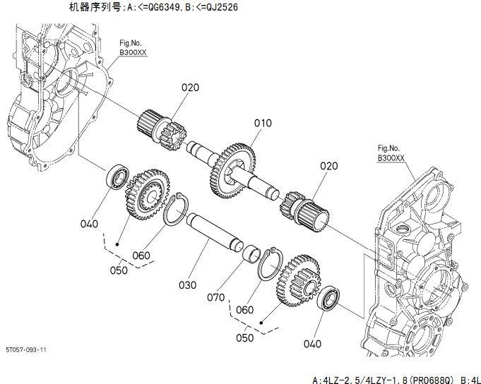 Precision Roller Bearing H3680 4003 0 Kubota Dc 60 Dc 70