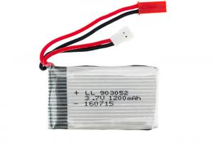 China Small 3.7V Lipo Battery For Rc Helicopter on sale