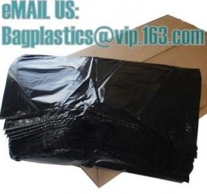 China Rubbish bags, Waste bags, waste sacks, bin liners, refuse sacks, yellow bags, yellow sacks on sale
