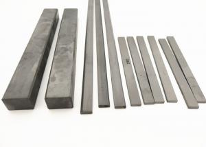 China YG6 Solid Tungsten Carbide Wear Parts , High Toughness Carbide Strips 310mm on sale