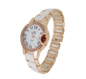 China 1 ATM Waterproof Analog Quartz Watch Lady Gift Wrist Watch on sale