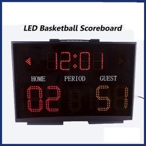 China Light Electronic LED Portable Basketball Scoreboard on sale