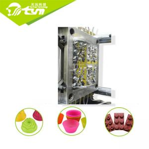 China High Performance Silicone Injection Molding Machine For Bread / Chocolate Mold on sale