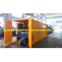 Moveable Mobile Nitrogen Gas Generator , Container Type Psa Nitrogen Plant