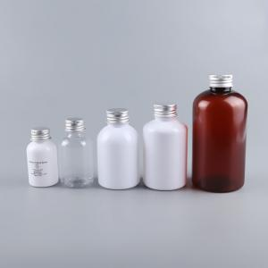China Various Color Clear Lotion Bottles , Empty Plastic Bottles For Lotion on sale