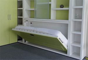 Modern Hidden Horizontal Wall Bed Smart Murphy Wall Bed With