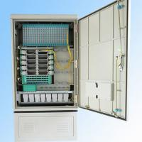 China 288fo Street Fiber Optic Cabinet Outdoor , Fiber Optic Splice Closure Cross Connection on sale