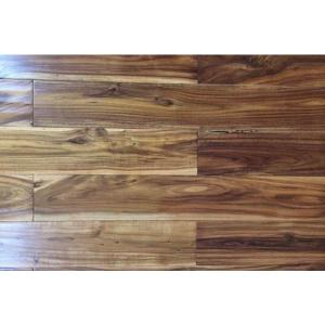 China hand scraped tobacco road acacia hardwood flooring on sale