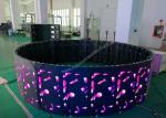 Circle Outdoor Rental LED Display P4.81 High Brightness 500x1000 Die Casting Cabinet