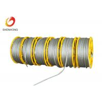 12 Strands Anti Twisting Steel Wire Rope , Galvanized Hexagonal Wire Rope Wire Pilot Rope