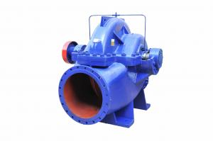 China Electric Horizontal Split Case Centrifugal Pump Double Impeller Anti - Clockwise Rotation on sale
