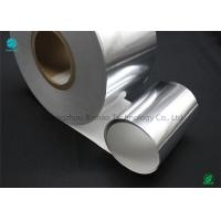 China Silver Moisture - Proof Aluminium Foil Paper With White Backing Base Paper For Premium Cigarette Packaging on sale