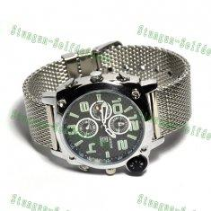 Quality 1080P waterproof HD spy watch Camera Night Vision with compass for sale