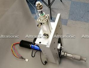 China Durable High Frequency Ultrasonic Metal Roll Welding Machine For Solar Panel on sale