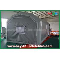 China 10 x 5m Gray Custom Inflatable Products PVC Inflatable Spray Booth For Car Spraying on sale
