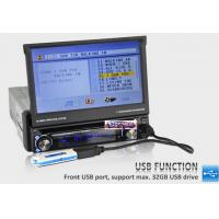 "7"" Detachable Single Din Car Stereo GPS Satnav,Car Stereo GPS Navigation Sat Nav DVD Head"