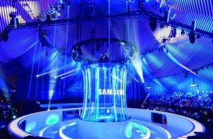 China Holonet 3D Holographic Projection System Hologram Mesh Screen For Stage Show on sale