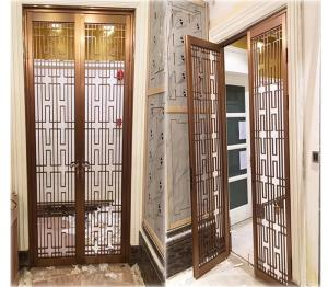 hotel indoor stainless steel screen room divider metal door rh stainless plate com sell everychina com