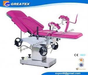 China Manual Obstetric Table / couch for childbirth and gynaecological examination on sale