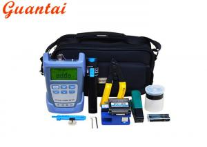 China FCC Compliant Fiber Optic Tools Fiber Cleaver And Optical Power Meter 5km on sale