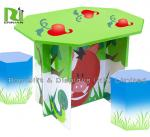Recyclable Cardboard Furniture Display Beautiful Kids Cardboard Chair And Desk