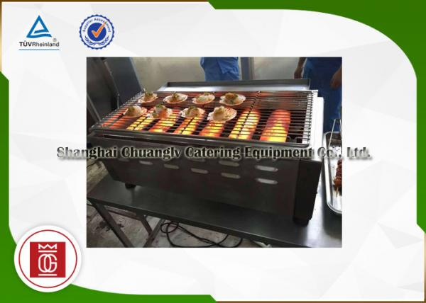 Big Kitchen Commercial Gas Barbecue Grills , Natural Gas Bbq Grill ...