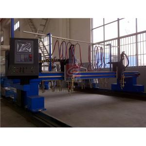 China Gantry CNC Flame Cutting Machine Single Side Drive for Plate Cutting on sale