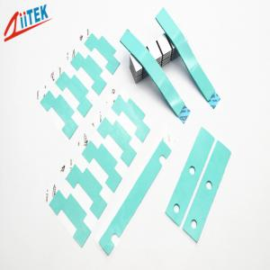 China Light Green LED panel light good performance silicone Thermally Gap Filler 1.5 W/M-K on sale