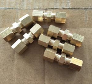 China Processing custom all kinds of pipe fitting,Adapte, brass threade fitting, threaded brass fittings,brass nuts and bolts on sale