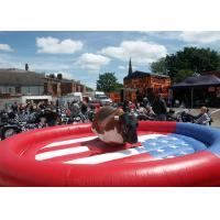 China Rodeo Bull / Bucking Bronco Inflatable Sports Games For Playground Equipment on sale