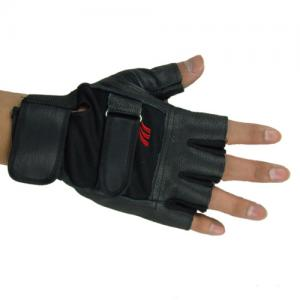 China Half  Finger Tactical  Gloves,Material:Leather,Airsoft Glove Leather For Material on sale