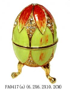 China Easter Egg Music Box Easter egg Music Boxes on sale