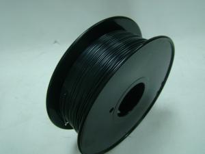 China Black 1.75mm 3D Printer ABS Flame Retardant Filament Plastic Strip For Makerbot on sale