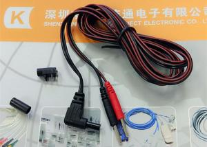 China Electrode EMS Muscle Stimulator Tens Lead Wire Cable on sale