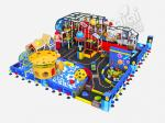 CE Certefied Indoor Playground Equipment , KaiQi Soft Playground With Colorful Printing