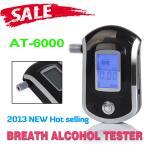 A polícia de Digitas LCD classifica o bafômetro, verificador portátil da respiração do álcool
