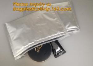 China Custom Bubble Ziplock Packaging Bag Slider Padded Bag,Anti Shock Plastic PE Material Mailer Zip Lock Padded Bag /Slider on sale