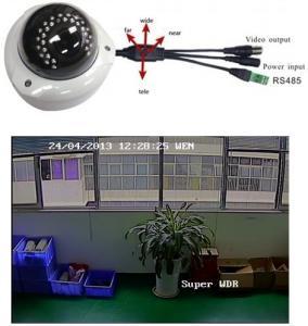 China Motorized Zoom OSD 700TVL Vandal-proof Camera on sale