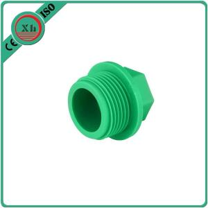 China Flexible Plastic Pipe Fittings Ppr Pipe Plug German Standard Din8077 / 8078 on sale