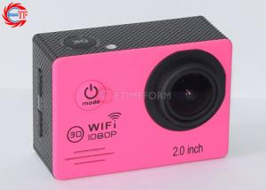 China 2.0 Novatek 96655 Mini WIFI Action Camera 1080P 30fps Wide Angle For Travel on sale